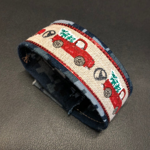 The Christmas Red Truck Bracelet