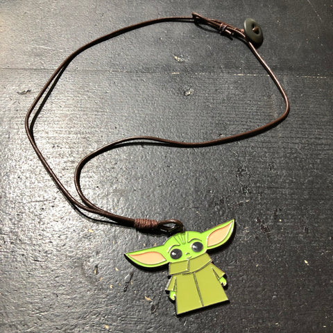 The Baby Yoda Necklace