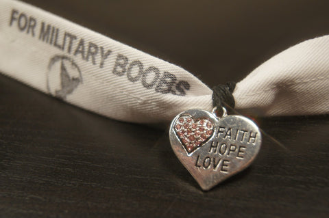 The Military Boobs Campaign Bracelet