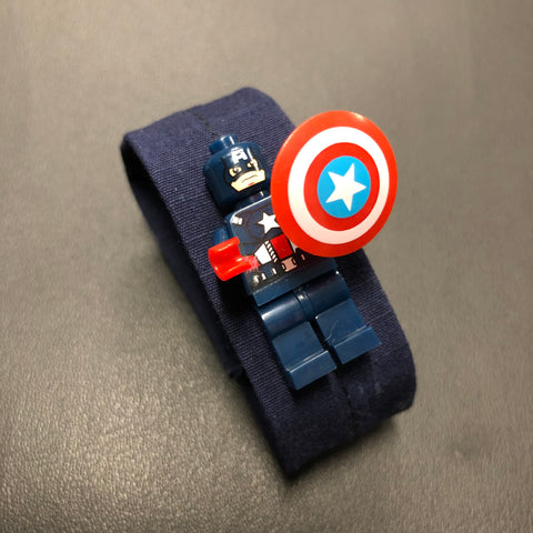 The Lego Captain America Bracelet