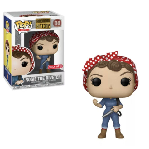 The Rosie the Riveter Bracelet & Funko Pop Set