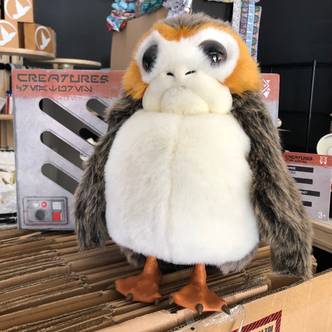 The Porg Puppet Concept Toy & Cage Box