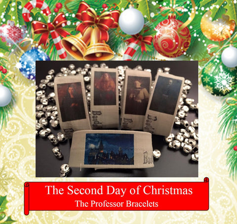 The Professor Bracelets, The 2nd Day of Christmas Bracelet