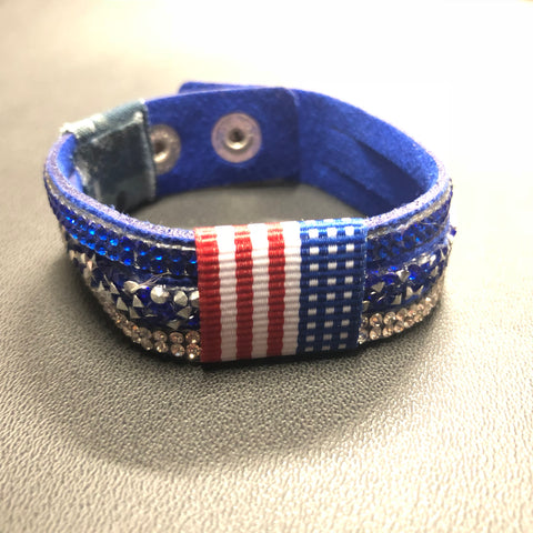 The 2018 Women's Blue Lives Matter Bracelet