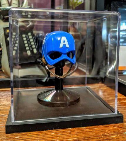 The Captain America Mask Display Case
