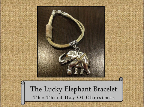 *The Lucky Elephant Bracelet, The 2013 3rd Day of Christmas Bracelet