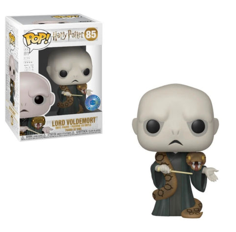 The Voldemort & Nagini Bracelet & Funko Pop Set