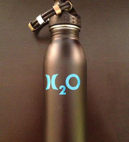 The Hydrate Hurley Water Bottle and Bracelet Set