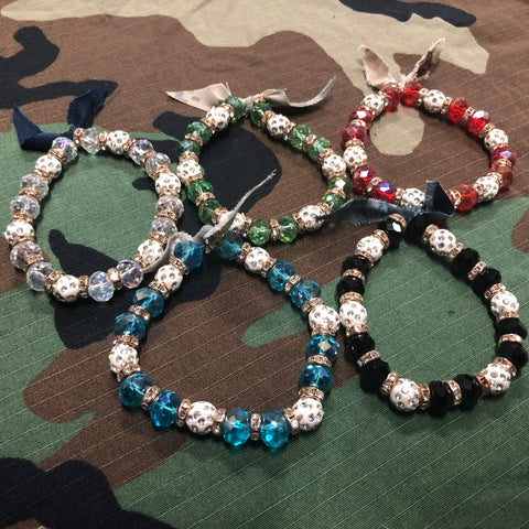 The Ladies Military Branch Bracelets