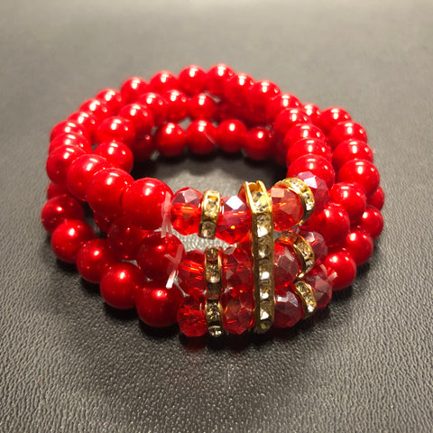 The Elegant RED Friday Bracelet