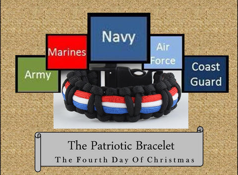 The Patriotic Bracelet, The 4th Day of Christmas Bracelet