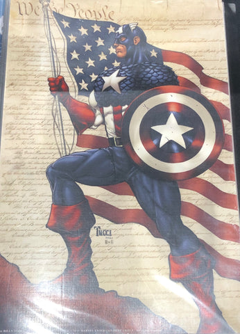 The Army Veteran William Tucci Autographed Captain America #2
