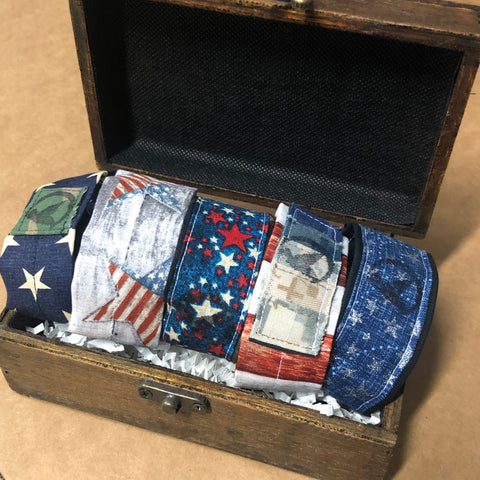 The Memorial Day Wooden Box Collection