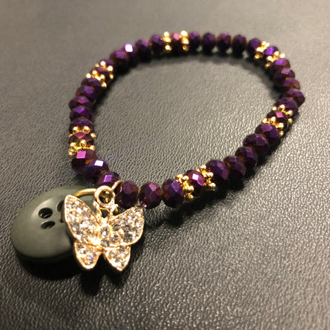 The Golden Butterfly Bracelet