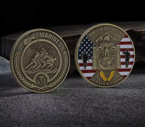 The 2019 Marine Corps Birthday Challenge Coin