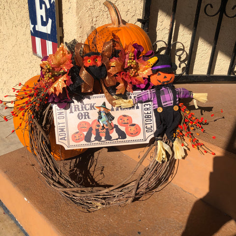 The October Fall Wreath #1