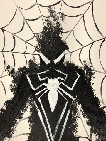 The Venom Web Painting, A Bands For Arms Artwork Piece