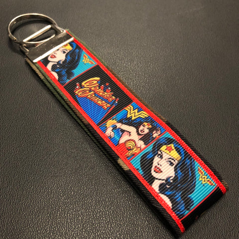 The Classic Wonder Woman Keychain