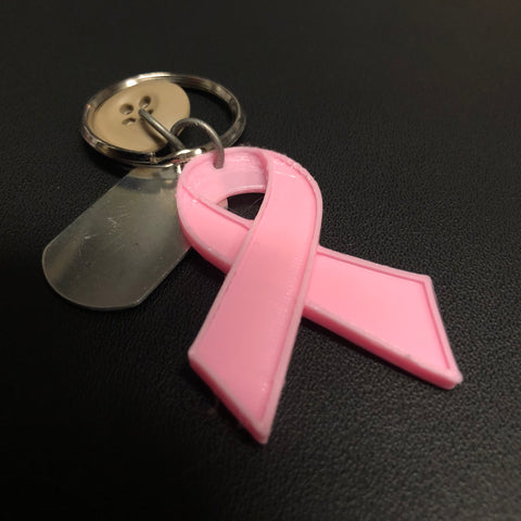 The Pink Warrior Keychain