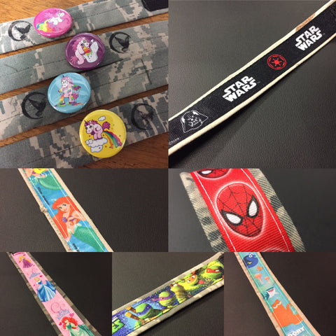*****************************************************************************************************************************************************************The Portland OR Comic Con Bracelets