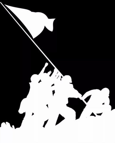 The Iwo Jima Decal