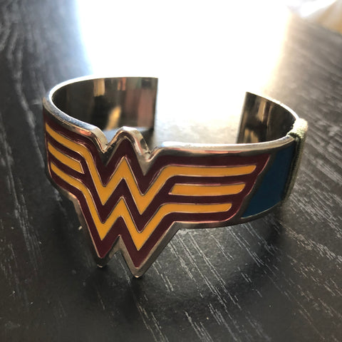 The Classic Wonder Woman Crest Bracelet