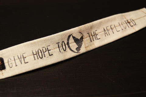 The 2013 Suicide Awareness Bracelet