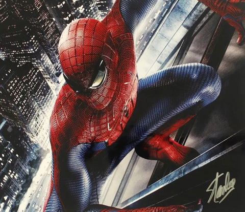The Stan Lee Autographed Spider-Man Photo