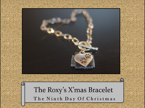 The Roxy's X'mas Bracelet, The 9th Day of Christmas Bracelet