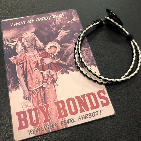 The WWII War Bonds Bracelet