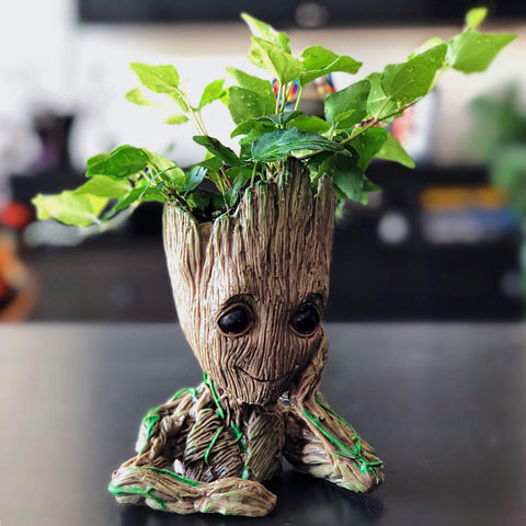 The Baby Groot 3D printed Figure