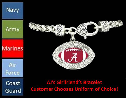 The AJ's Girlfriend Bracelet