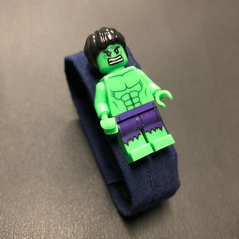 The Lego Incredible Hulk Bracelet