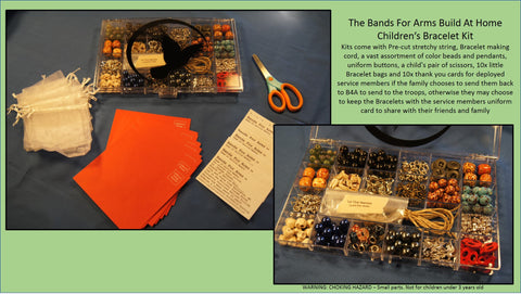 The Bands For Arms Build At Home Children's Bracelet Making Kit
