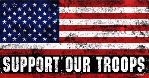The American Support Our Troops Decal