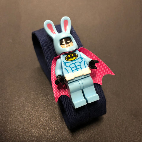 The Lego Bunny Batman Bracelet