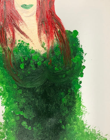 The Poison Ivy Painting, A Bands For Arms Artwork Piece