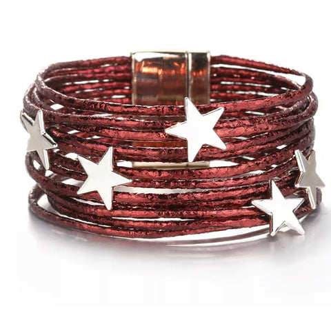 The Fireworks Sky Wrap Bracelet