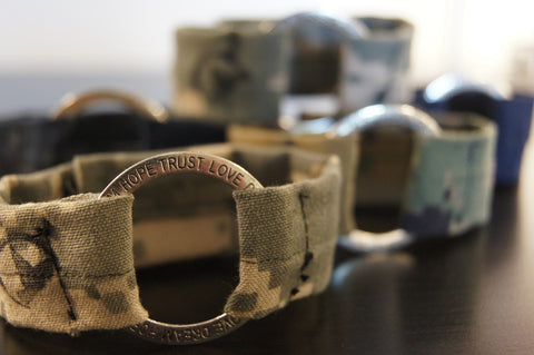 The Military Caring Mother's Bracelets