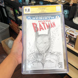 The Graded Batman Comic Sketched by Nick III