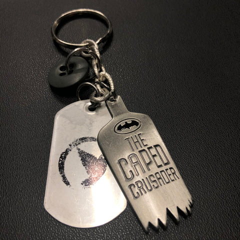 The Caped Crusader Keychain