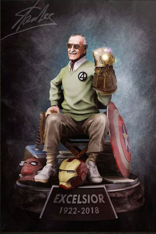 The Stan Lee Excelsior Large Poster