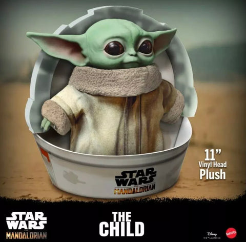 The Baby Yoda Plush Doll Pre-Order with Baby Yoda Bracelet