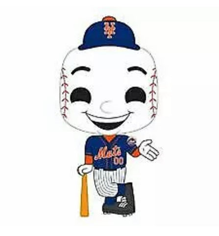 The Mascot Mr Met Bracelet & Funko Pop Set