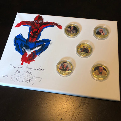 The Stan Lee Remembrance Challenge Coins Set