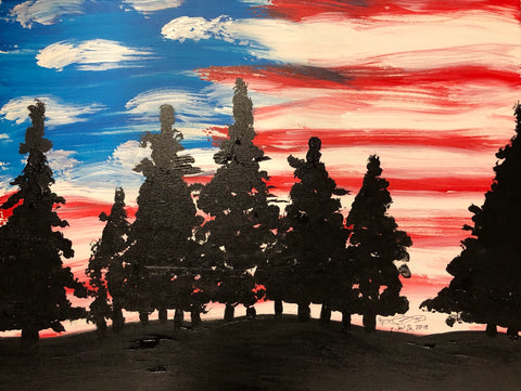 The National Parks Painting, A Bands For Arms Artwork Piece