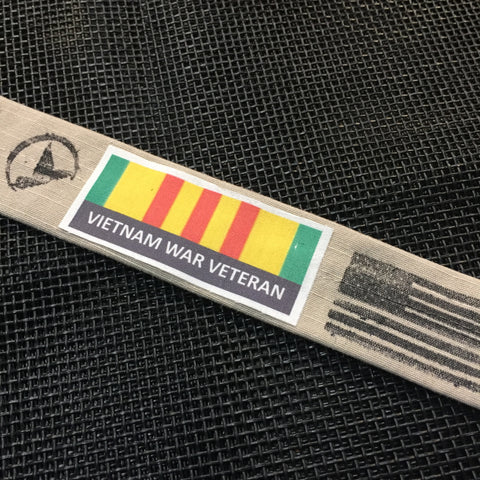****************************************************************************The Vietnam War Ribbon Bracelet