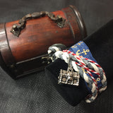 ****The Pirate's Treasure Bracelet Wrap & Treasure Chest Set
