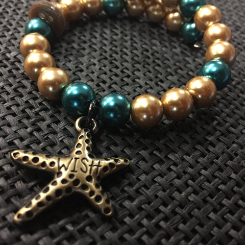 ****************************************************************************************The Starfish Wish Bracelet