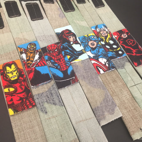 The Classic Comic Heroes Bracelets